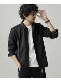 【SALE/50%OFF】nano・universe T/Wレギュラーカラーシャツ ナノユニバース シャツ/ブラウス シャツ/ブラウスその他 ブラック ネイビー グレー【送料無料】