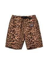 FULL-BK/(M)Leopard Shorts