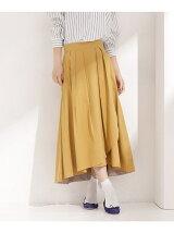 イレギュラーヘムラップ風スカート