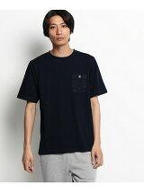 【WEB限定】インディゴ ポケットTシャツ