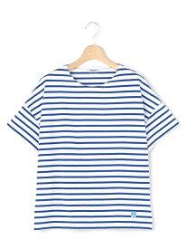 Bshop 【ORCIVAL】ワイド半袖Tシャツ WOMEN ビショップ カットソー Tシャツ レッド ベージュ ブルー パープル【送料無料】