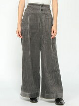SEASONING/(W)FCORDUROY WIDE PANT