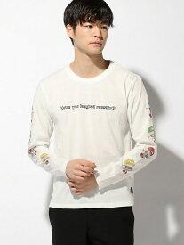 gym master gym master/(U)Q&AロンTee ジムマスター カットソー Tシャツ ホワイト グレー ブラック ネイビー【送料無料】