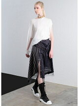 STRIPE SHIRT SKIRT