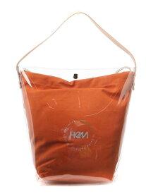 HeM (W)サーリ トートバッグ ST-274-01 ヘム ショップ バッグ トートバッグ オレンジ カーキ ネイビー ホワイト【送料無料】