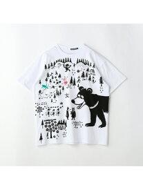 FRAPBOIS FRAPBOIS×Ryu フラボア カットソー Tシャツ ホワイト【送料無料】