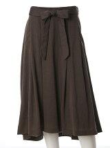 《ef-de》フレアバックロングスカート