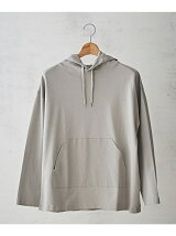 COMBED INTERLOCKパーカー GARMENT W