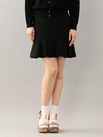 【SALE/40%OFF】GUILD PRIME 【GUILDPRIME】WOMENSランダムぺプラムスカート ラブレス スカート ミニスカート ブラック【送料無料】