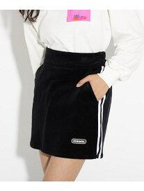 【SALE/17%OFF】PINK-latte コーデュロイ台形スカート ピンク ラテ スカート スカートその他 ブラック ブラウン ベージュ パープル