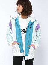 HOODED PANEL BIG BLOUSON