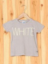 カラー半袖TシャツWHITE/キッズ/夏
