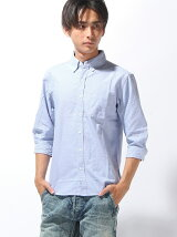 (M)【セレクト】オックス7分シャツ