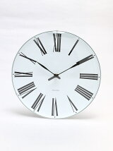 (U)ARNE JACOBSEN Wall Clock Roman 290mm