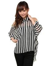肩パールドルマンシャツ3