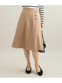 ViS 【EASYCARE】【着丈が選べる】ウォッシャブルフラノフレアスカート ビス スカート