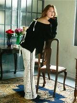 line lace pants
