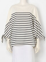 RIBBON SLEEVE TOP
