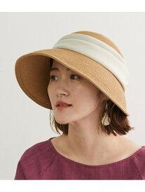 【SALE/50%OFF】ROPE' PICNIC PASSAGE ブレードバックスリットハット ロペピクニック 帽子/ヘア小物 ハット ブラウン ベージュ