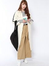 JERSEY TRENCH COAT