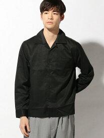 【SALE/36%OFF】CORISCO CORISCO/(M)ブロードナガソデオープンシャツ サンコーバザール シャツ/ブラウス 長袖シャツ ブラック ピンク ブルー ネイビー ベージュ