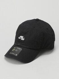 SPENDY'S Store NIKEエアキャップ スペンディーズストア 帽子/ヘア小物 キャップ ブラック ホワイト