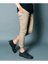 COOL MAX TWILL CROPPED TAPERED PANTS