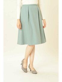 【SALE/55%OFF】NATURAL BEAUTY BASIC [洗える]ウールライクツイルフレアスカート ナチュラルビューティベーシック スカート スカートその他 グリーン ブラック ベージュ