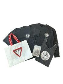 【SALE/50%OFF】GUESS [Tee +Bag +Mask Set] GUESS ゲス その他 福袋 ブラック ベージュ【送料無料】