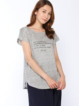 LINEN100ロゴTシャツ