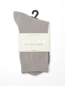 Bshop 【FALKE】47673 COTTON TOUCH SOCK WOMEN ビショップ ファッショングッズ ソックス/靴下 グレー ホワイト ベージュ ブラック