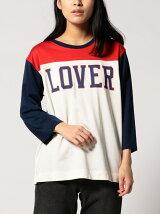 LS ATHLETIC Tシャツ LOVER MARSHMALLOW グラフィック