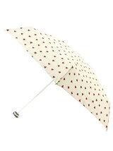 ハート柄コンパクト折りたたみ傘