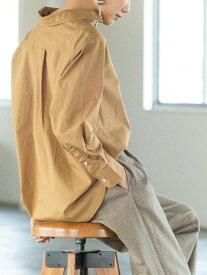 【SALE/30%OFF】coen 2WAYカシュクールシャツ コーエン シャツ/ブラウス 長袖シャツ ベージュ ホワイト オレンジ カーキ