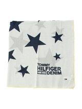 (W)Hilfiger Denim/スタープリントスカーフ