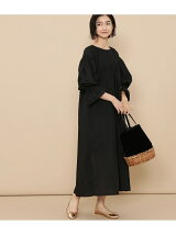 【ne Quittez pas】FINE LAWN PINTUCK DRESS