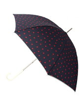 ハート柄長傘