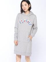 (W)Hilfiger Denim/ロゴスウェットドレス