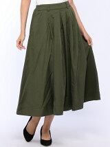 (W)チノロングスカート