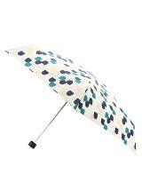 セミサークル柄コンパクト折りたたみ傘