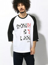 (M)DOWN BY RAW RAGLAN