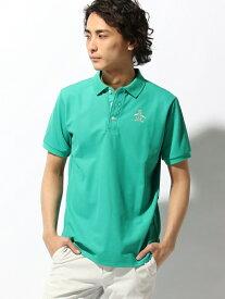 Munsingwear (M)半袖シャツ(ニット) マンシングウェア カットソー ポロシャツ グリーン グレー ネイビー ピンク ホワイト【送料無料】