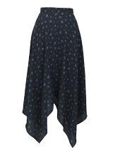 Skirt/REALITY BITES 花柄イレギュラースカート