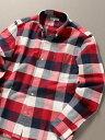 【SALE/40%OFF】SHIPS JET BLUE SHIPSJETBLUE:チェックボタンダウンネルシャツ シップス シャツ/ブラウス 長袖シャツ…