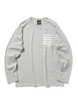 【SPECIAL PRICE】BEAMS T / BORDER ポケットロングスリーブ