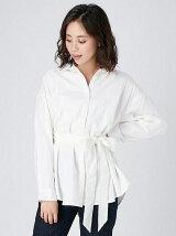 [Ca]ベルトカラーシャツ