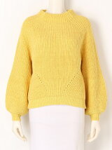 MIX COLOR RIB SWEATER