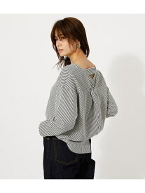 【SALE/70%OFF】AZUL by moussy BACK TWIST OPEN TOPS/バックツイストオープントップス アズールバイマウジー カットソー カットソーその他 ホワイト ピンク カーキ