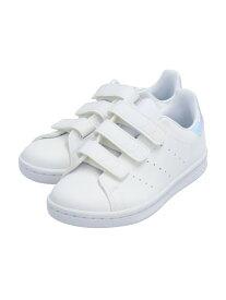 adidas Originals (K)STAN SMITH CF C アディダス シューズ キッズシューズ ホワイト【送料無料】