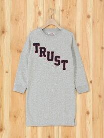 【SALE/20%OFF】Junk Soul JUNKSOUL/(K)パイル起毛TRUST刺繍ワンピ サンコーバザール ワンピース【RBA_S】【RBA_E】
